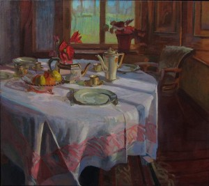 Tafel in winterlicht. 2013